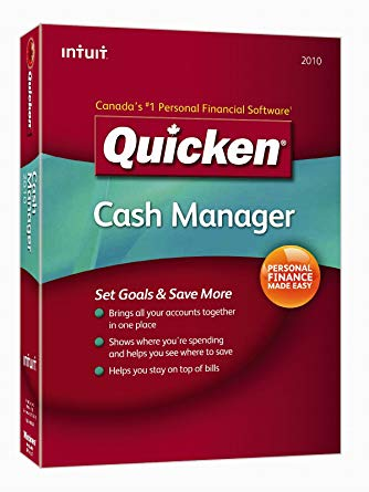 2010 Quicken Cash Manager