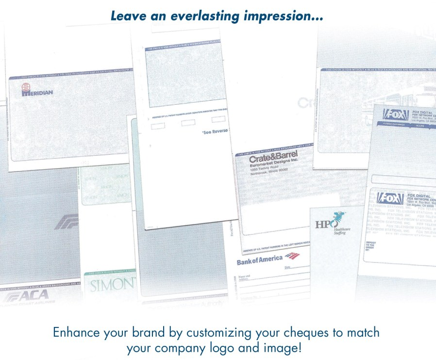 Custom Cheques Quote