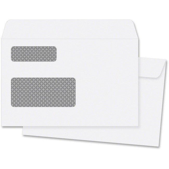 Double Window T4 Tax Envelopes 5 3/4 x 9""